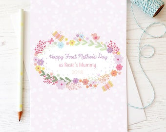 Personalised Happy First Mother's Day Card