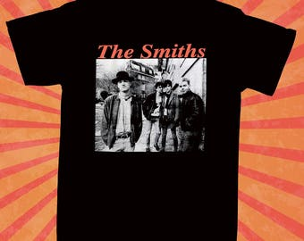 The Smiths t shirt playera morrissey rock depeche mode punk new order 80's new wave new the cure unisex the smiths shirt band rare S to XL