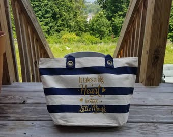 Teacher Appreciation Beach tote