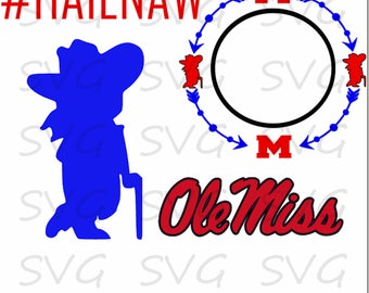 Ole Miss Bundle Set svg, dxf, fcm, eps, and png.