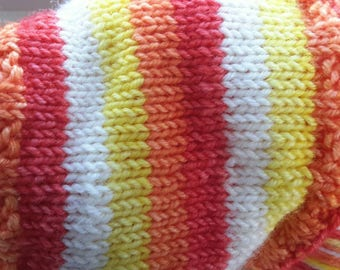 Everything is Awesome - Hand Dyed Self-Striping Sock Yarn