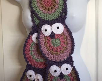 Owl Obsession Scarf *READY TO SHIP*