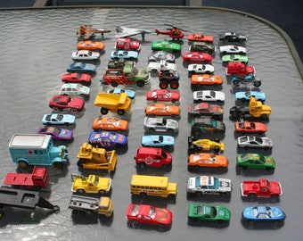 HotWheels, Matchbox, China, lot of 60 vintage little vehicles