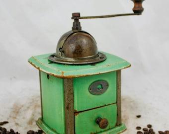 Coffee Grinder R.Z. Zassenhaus Mill Moulin Cafe Molinillo Kaffeemuehle Green Koffiemolen Macinacaffe