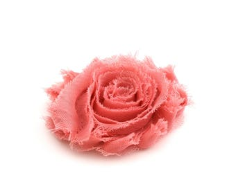 Frayed flower diameter 6 cm