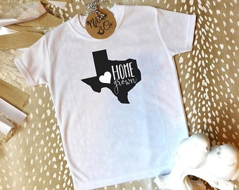 Cute Baby Onesie,Baby Shower Gift,Baby Gift,Baby Girl Gift,Home Grown Onesie,Home Grown,Texas Home Grown,Cute Onesie,Texas Shirt