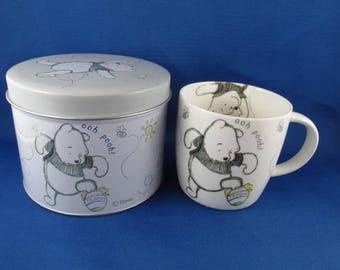 Winnie The Pooh, Mug in a Tin, Tigger, Eeyore, Piglet Unused