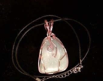 Green adventurine Adventurine necklace Adventurine Necklace Green Green necklace Crystal necklace Gemstone Jewlery Wire wrapped
