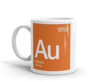 Auburn Periodic Table Mug