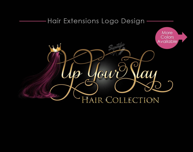 hair business logo hair logo design hair collection logo