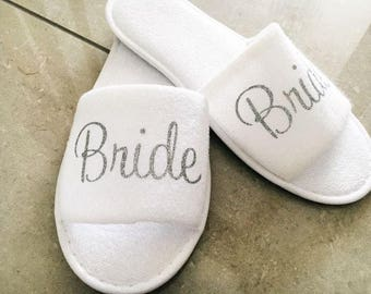 Afforable wedding slippers