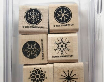 """Stampin Up """"Snow Flurries"""" 2006"""