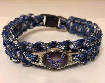 Air Force Paracord Bracelet