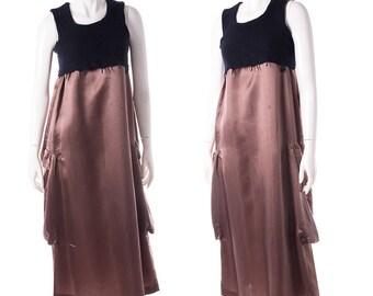 Rare Vintage AD1994 Comme Des Garcons Rei Kawukabo Punk Dress