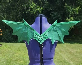 Classic Green Dragon wings