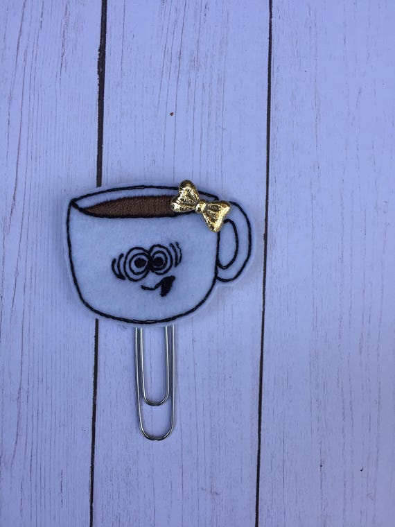 Wired Coffee Planner Clip/Planner Clip/Bookmark. Coffee Planner Clip. Rose Gold Planner Clip. Coffee Mug Planner Clip. Coffee Girl