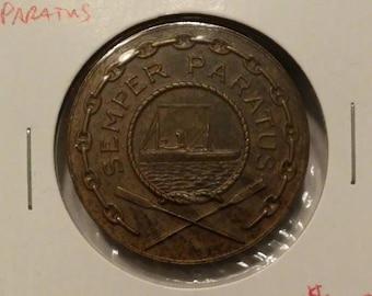 Semper Paratus United States Coast Guard Medal