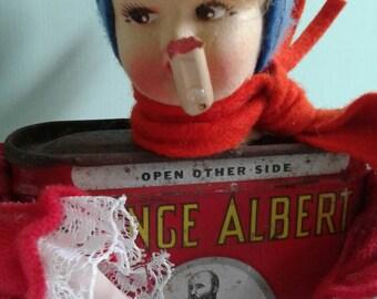 Smoking girl Loves Prince Albert!