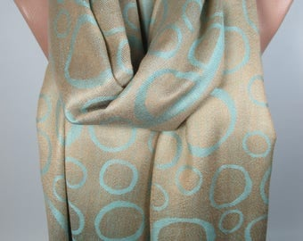 Large Pashmina Scarf Double Sided Scarf Shawl Valentines Gift Winter Scarf Christmas Gift For Her For Women Gift For Mom Gift For Women