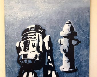 R2-D2 Fire Hydrant