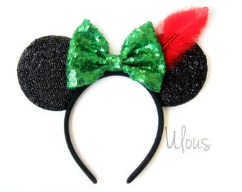Peter Pan Ears, Peter Pan Mickey Ears, Peter Pan, Disney Ears, Neverland Ears, Mickey Ears, Minnie Ears, Peter Pan Minnie Ears, Disney