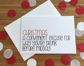 Christmas card - 'Chris...