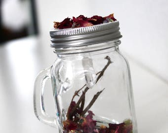 Rose Garden Twig Jar