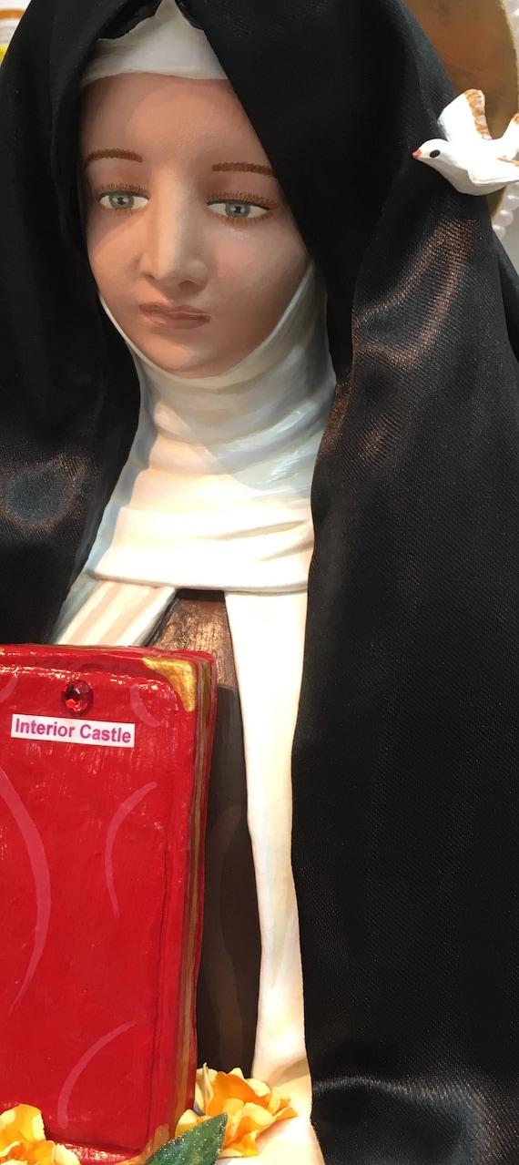 "St. Teresa of Avila 26"" Patroness of Headache Sufferers"