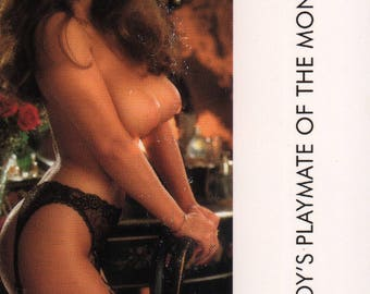 MATURE - Playboy Trading Card March Edt. 1983 - Playmate Centerfold - Alana Soares - Card #90