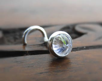 Crystal Nose Stud // Nose Piercing // Nose Jewelry