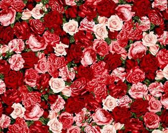 Rose Garden Packed / custom fabric