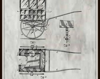 Portable Dry Closet Patent #743834 dated November 10, 1903