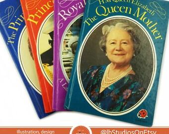 4 Book: British Royal Family Ladybird Book Collectors Set
