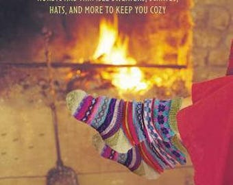 Nordic Knitting Pattern Book Hygge Knits by Nicki Trench Fair Isle Jumpers Scarves Hats Sock 25 Pattern Projects ISBN 978-1782494782