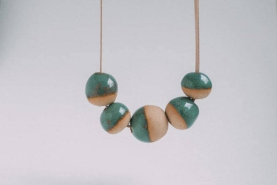 Sea Green Dip in Earthenware