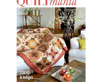 New Old Stock - Quiltmania Magazine 112 - March-April 2016 - SALE!!