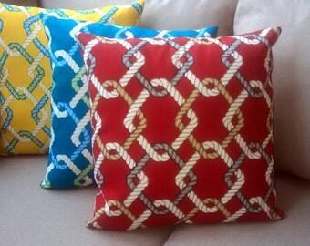 Set of 4 -Outdoor decorative pillow cover (Solarium Outdoor Fabric)