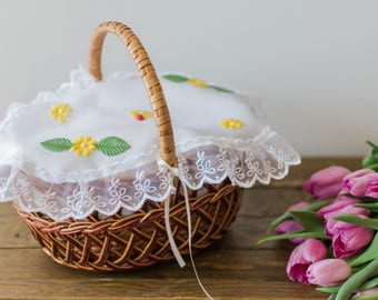 Easter  Basket  floral cover