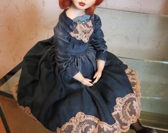 """OOAK art doll """"Rita"""""""