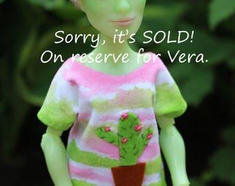 ON RESERVE for Vera! Monster High Custom Repaint Art doll OOAK Porter Geiss