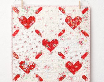 PDF Patchwork Anleitung - Love Is All Around MINI