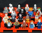 Horror Movie Pick Your Set Of 5 Minifigures Jason Chucky Freddy Mike Myers Leatherface Jigsaw Pinhead Building Toys Building Block Toy