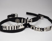 CityMania All Charms - Skyline Statement Bracelets - Christmas Gift - Anniversary Gift For Her - Thanksgiving Gift Idea