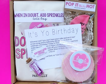 Best Friend Birthday Gift. Birthday Gift Basket. Birthday Box for Her. Birthday Gift Package. Unique Birthday Gift. Personalized Birthday.