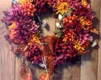 Fall Floral Wreath