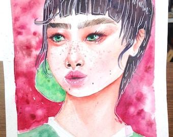 Freckles and Speckles- Original piece