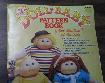 DOLL PATTERN by Martha Nelson Thomas, 1984, Soft Sculpture doll pattern.