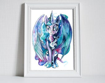 Print ~ Luna/Nightmare ~ My Little Pony