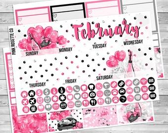 February Monthly kit in for Erin Condren Life Planner!