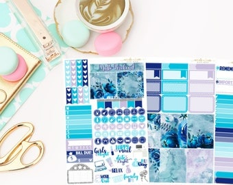 Sapphire Personal Kit,  planner stickers